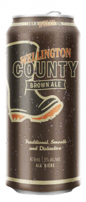 County Brown Ale by Wellington Brewery in Ontario, Canada
