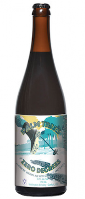 Palm Trees & Zero Degrees by Wellington Brewery in Ontario, Canada