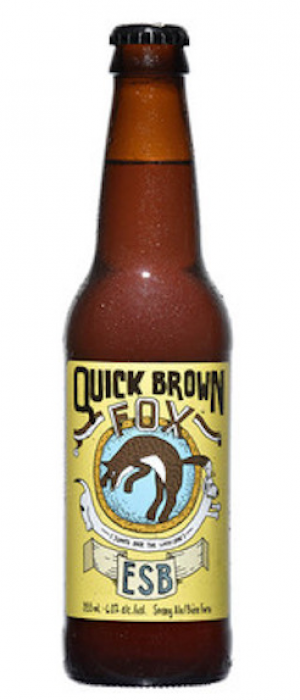 Quick Brown Fox by Wellington Brewery in Ontario, Canada
