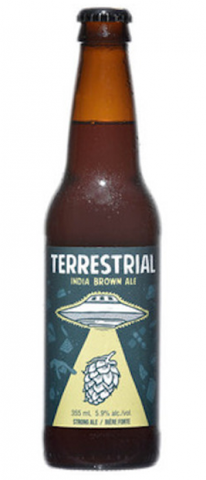 Terrestrial Indie Brown Ale by Wellington Brewery in Ontario, Canada