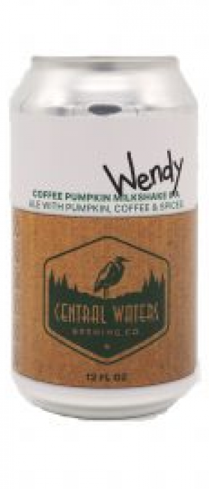 Wendy Coffee Pumpkin Milkshake IPA by Central Waters Brewing Company in Wisconsin, United States