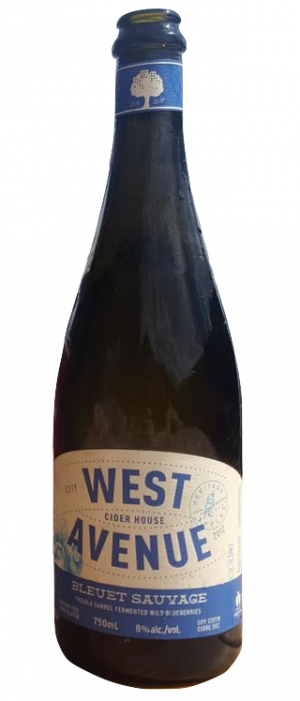 Bleuet Sauvage by West Avenue Cider Company in Ontario, Canada