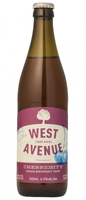 Cherriosity by West Avenue Cider Company in Ontario, Canada