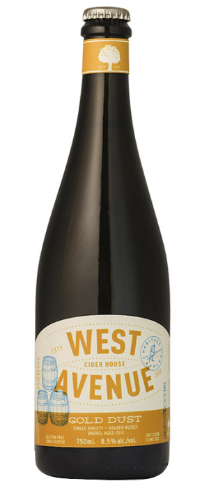 Gold Dust by West Avenue Cider Company in Ontario, Canada