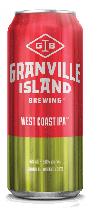 West Coast IPA by Granville Island Brewing in British Columbia, Canada
