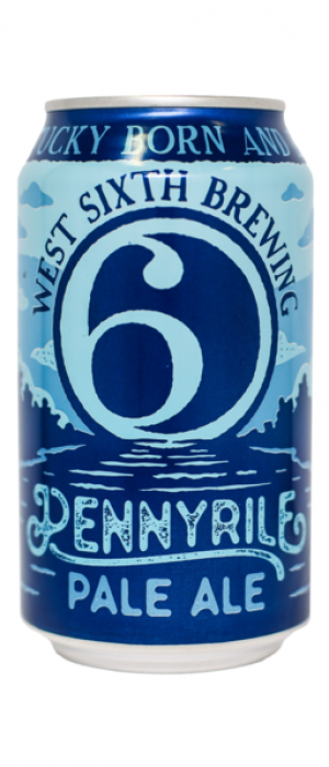 Pennyrile Pale Ale by West Sixth Brewing in Kentucky, United States