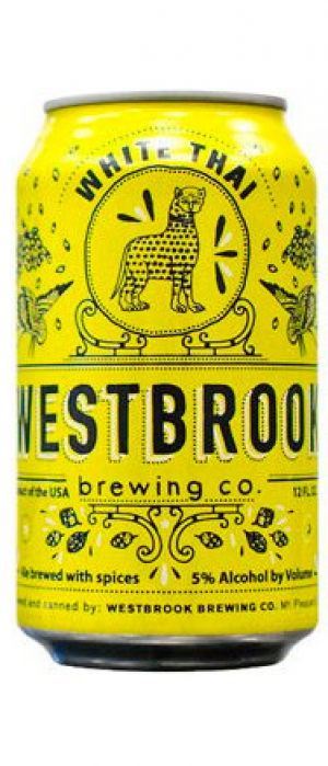 White Thai by Westbrook Brewing Company in South Carolina, United States