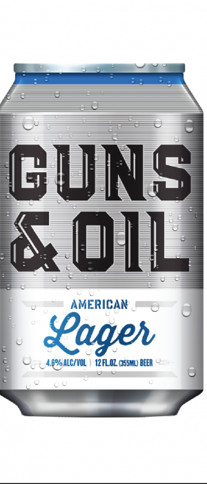 Guns & Oil American Lager by Western Collective in Idaho, United States