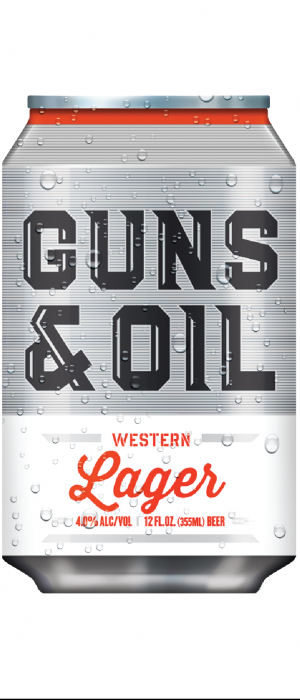 Guns & Oil Western Lager by Western Collective in Idaho, United States