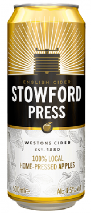 Stowford Press English Cider by Westons Cider Makers in Herefordshire - England, United Kingdom