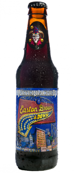 Easton Brown & Down by Weyerbacher Brewing Company in Pennsylvania, United States