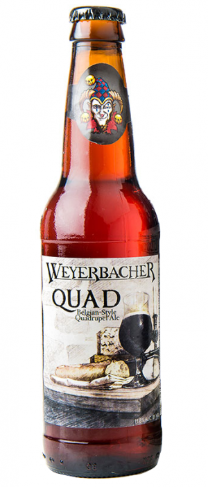 QUAD by Weyerbacher Brewing Company in Pennsylvania, United States