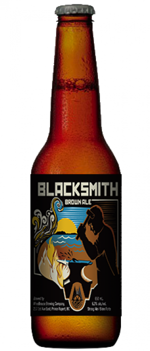Blacksmith Brown Ale by Wheelhouse Brewing in British Columbia, Canada