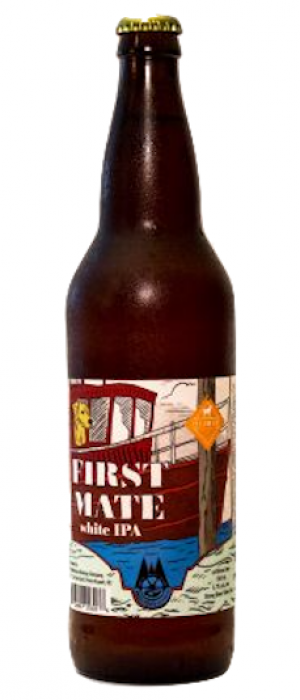 First Mate White IPA by Wheelhouse Brewing in British Columbia, Canada