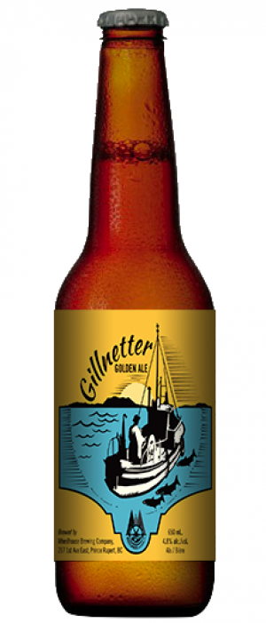 Gillnetter Golden Ale by Wheelhouse Brewing in British Columbia, Canada