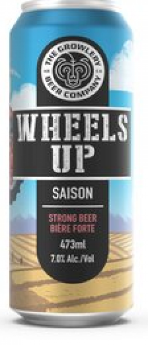 Wheels Up by The Growlery Beer Co. in Alberta, Canada