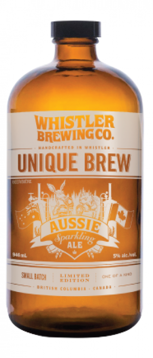 Aussie Sparkling Ale by Whistler Brewing Company in British Columbia, Canada