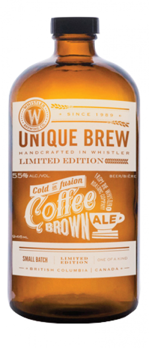 Coffee Brown Ale by Whistler Brewing Company in British Columbia, Canada