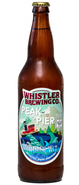 Peak To Pier by Whistler Brewing Company in British Columbia, Canada
