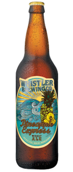 Pineapple Express by Whistler Brewing Company in British Columbia, Canada