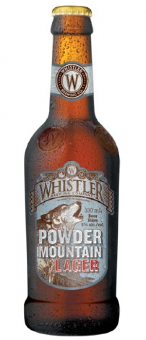 Powder Mountain Lager by Whistler Brewing Company in British Columbia, Canada