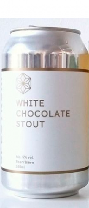 White Chocolate Stout by Spectrum Beer Company in British Columbia, Canada