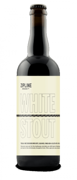 White Stout by Zipline Brewing Co. in Nebraska, United States
