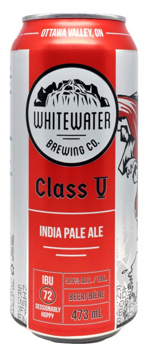 Class V by Whitewater Brewing Company in Ontario, Canada