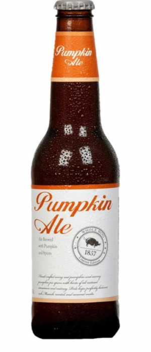 Whole Hog Pumpkin Ale 2017 by Stevens Point Brewery in Wisconsin, United States