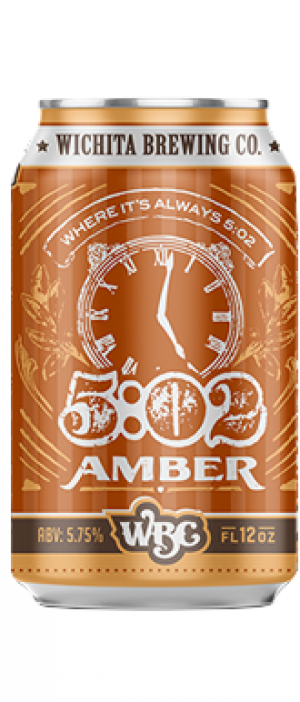 5:02 Amber by Wichita Brewing Company in Kansas, United States