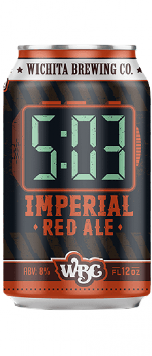 5:03 Imperial Red Ale by Wichita Brewing Company in Kansas, United States