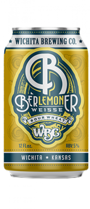 Ber-Lemon-Er Weisse Sour Wheat by Wichita Brewing Company in Kansas, United States