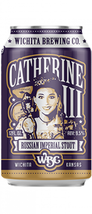 Catherine III Russian Imperial Stout by Wichita Brewing Company in Kansas, United States