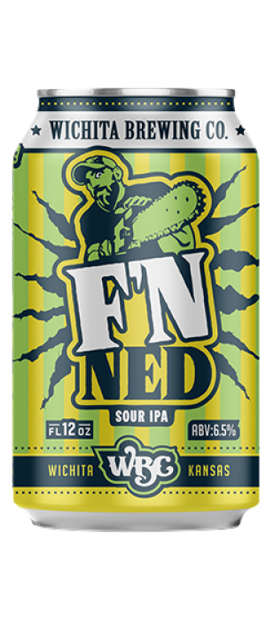 F'n Ned Sour IPA by Wichita Brewing Company in Kansas, United States