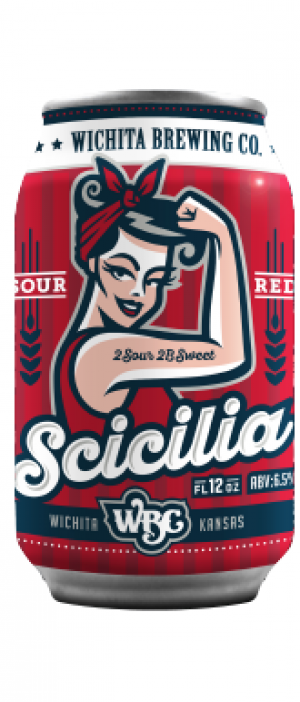 Scicilia Sour Red by Wichita Brewing Company in Kansas, United States