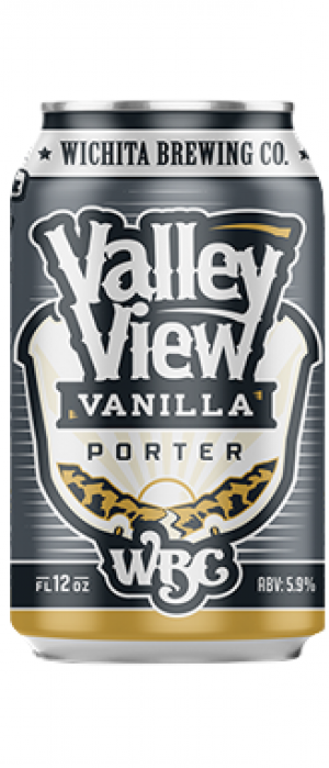 Valley View Vanilla Porter by Wichita Brewing Company in Kansas, United States