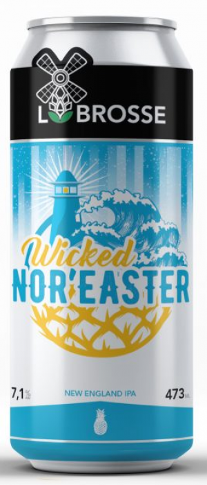 Wicked Nor'Easter by Microbrasserie Labrosse in Québec, Canada