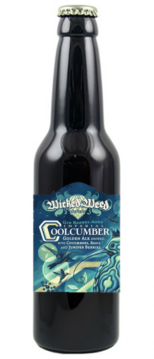 Imperial Coolcumber by Wicked Weed Brewing in North Carolina, United States