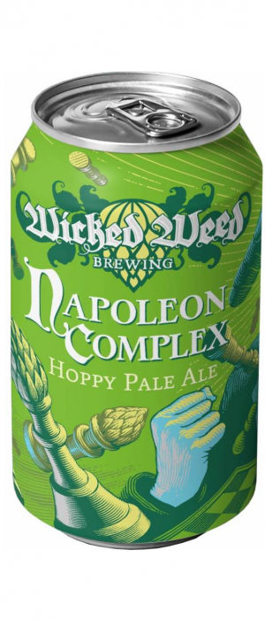 Napoleon Complex by Wicked Weed Brewing in North Carolina, United States