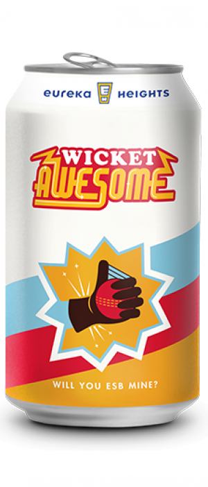 Wicket Awesome by Eureka Heights Brewing Company in Texas, United States