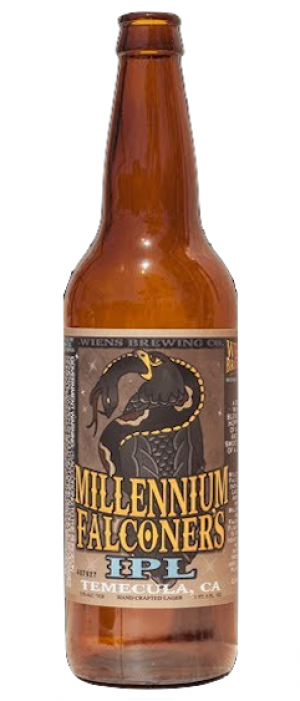 Millennium Falconer's IPL by Wiens Brewing Company in California, United States
