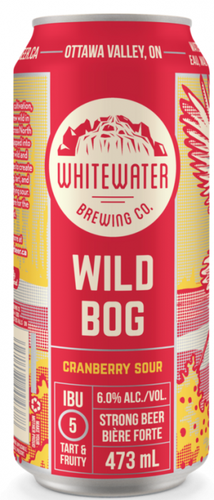 Wild Bog Cranberry Sour by Whitewater Brewing Company in Ontario, Canada