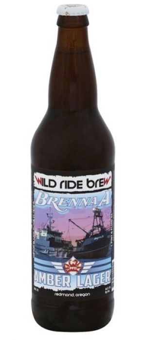 Brenna A Amber Lager by Wild Ride Brewing in Oregon, United States