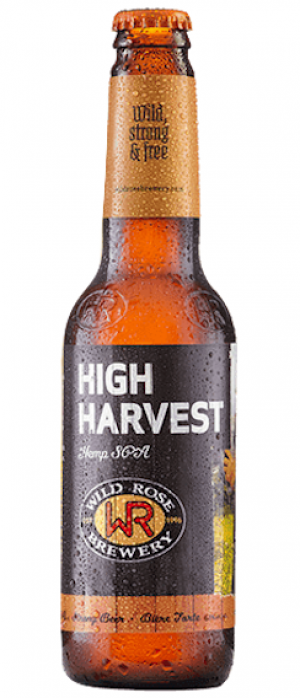 High Harvest by Wild Rose Brewery in Alberta, Canada