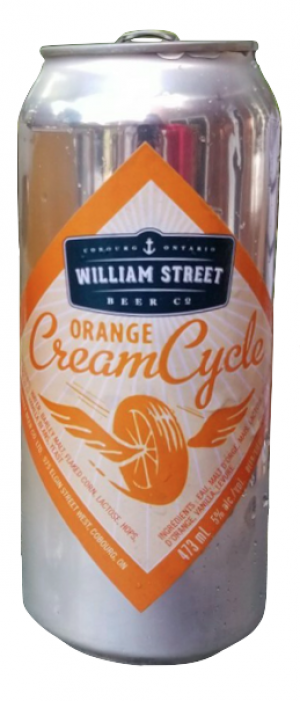 Orange Cream Cycle by William Street Beer Company in Ontario, Canada
