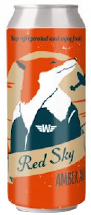 Red Sky Amber Ale by William Street Beer Company in Ontario, Canada