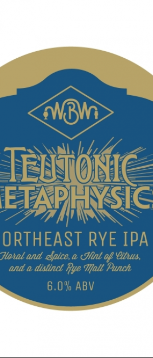 Teutonic Metaphysics by Wilmington Brew Works in Delaware, United States