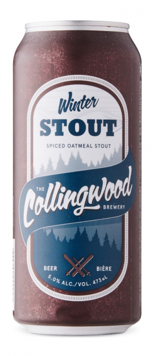 Winter Spiced Oatmeal Stout by The Collingwood Brewery in Ontario, Canada