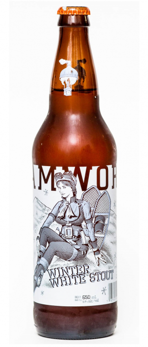 Winter White Stout by Steamworks Brewing Company in British Columbia, Canada