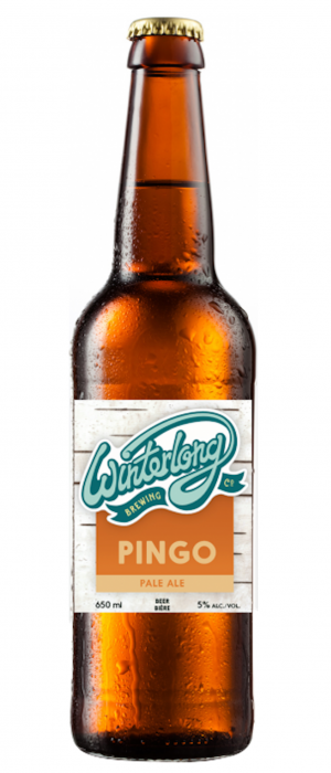 Pingo Pale Ale by Winterlong Brewing Co. in Yukon, Canada